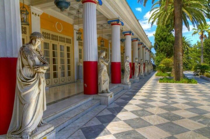 Achillion palace-Corfu