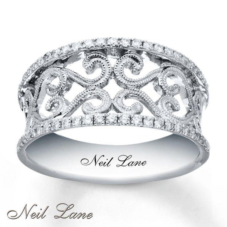 Kay - Neil Lane Diamond Ring 1/4 ct tw Round-cut Sterling Silver