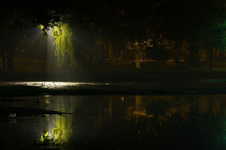 Cismigiu Park, Bucharest, Romania