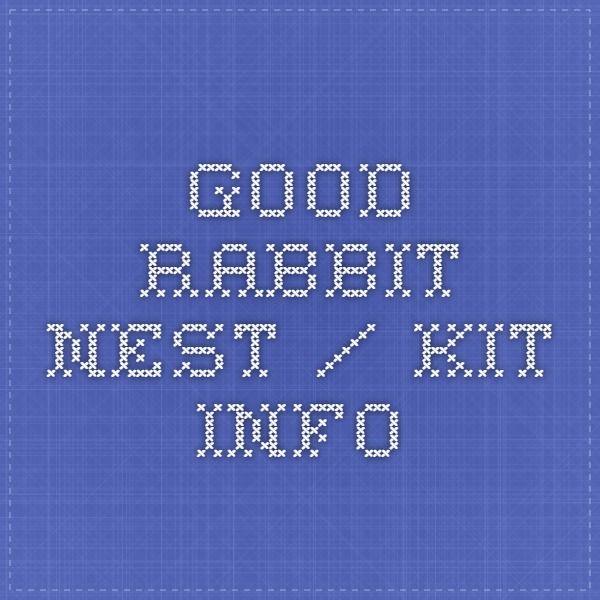 how to make a kit nest rabbit