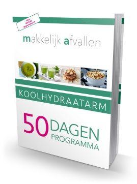 Het Koolhydraatarm 50 Dagen Programma receptenboek
