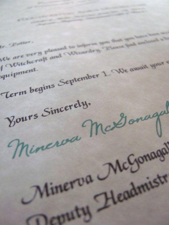 Best 25+ Hogwarts letter template ideas on Pinterest Hogwarts - acceptance letter