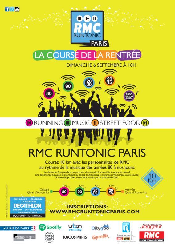 La RMC RUNTONIC PARIS © (dossards à gagner)