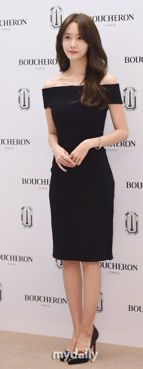 SNSD's pretty YoonA at BOUCHERON's event