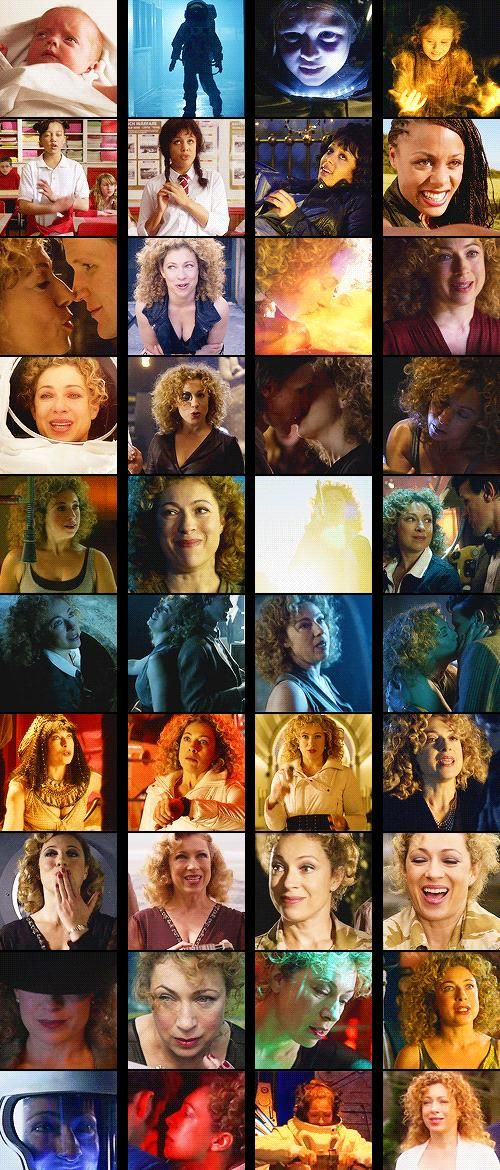 River Song is fantastic and I want to be her when I grow up ;) Oh and she makes me feel good about my hair :)