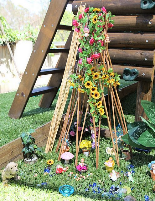 24 Best Images About Fairy Gardens On Pinterest | Gardens