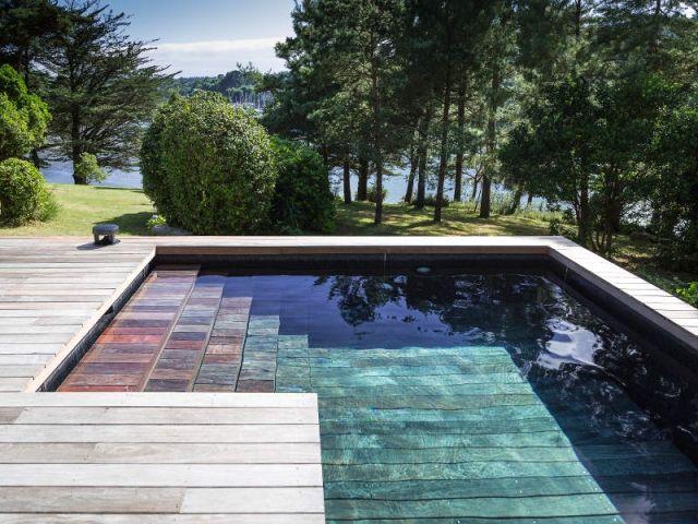 Oltre 1000 idee su deco piscine su pinterest piscine for Piscine fond mobile cout