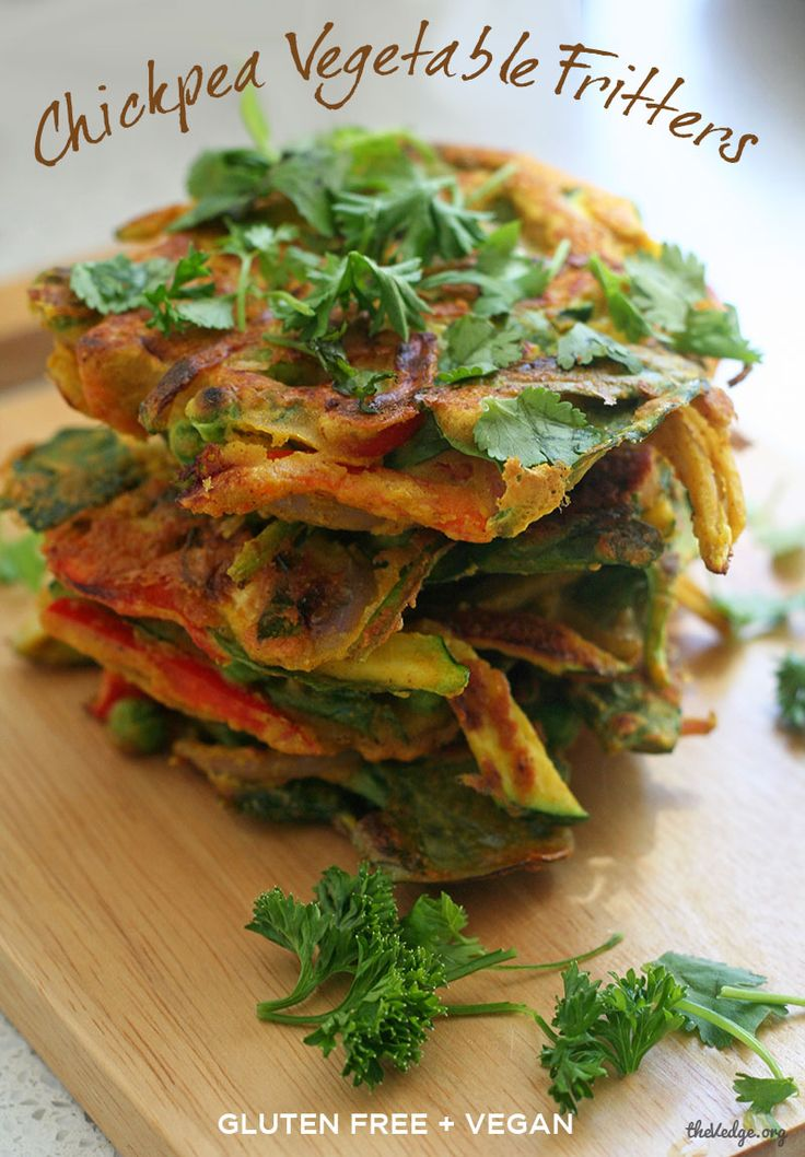 Chickpea Veggie Fritters
