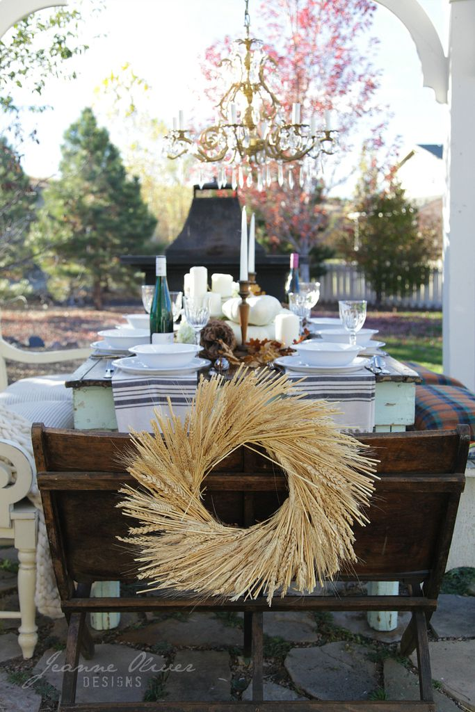 Thanksgiving Tablescape Tour {cozy and fun}