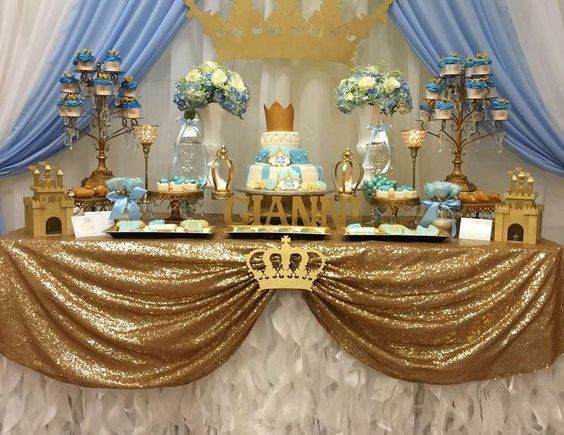 """Prince / Baby Shower """"Gianni's royal baby shower""""   Catch My Party"""