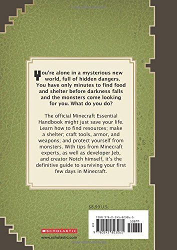 Minecraft: Essential Handbook (Updated Edition): An Official Mojang Book