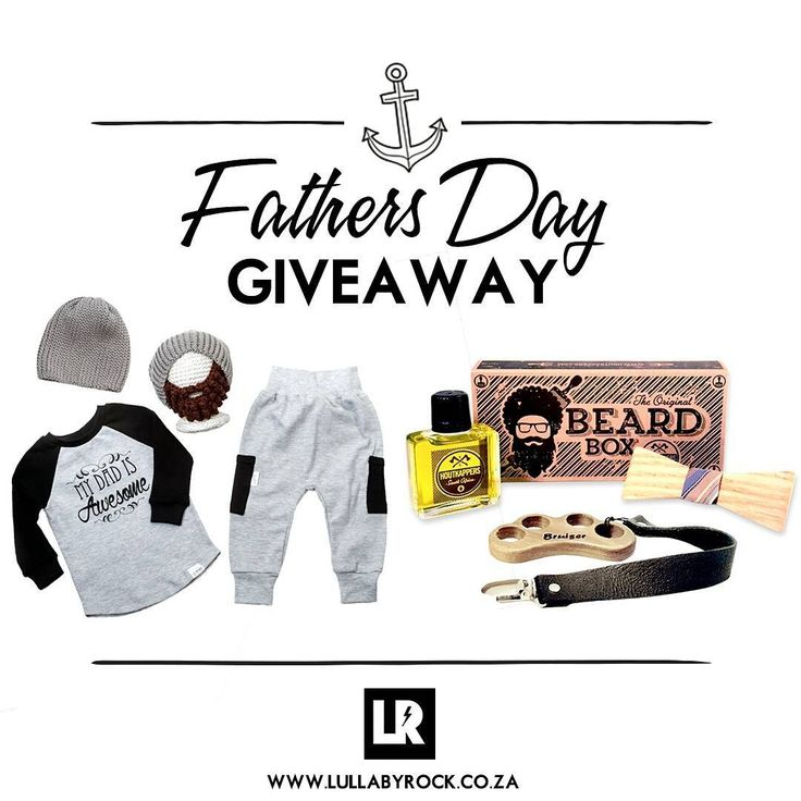 A perfect gift for #Fathersday!  Brought to you by #LullabyRock #Houtkappers and #Oosty.  Enter here:http://lullabyrock.co.za/fathers-day-giveaway-brought-to-you-by-lullaby-rock-houtkappers-oosty/