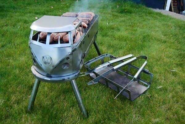 VW Camper BBQ - now that is cool...