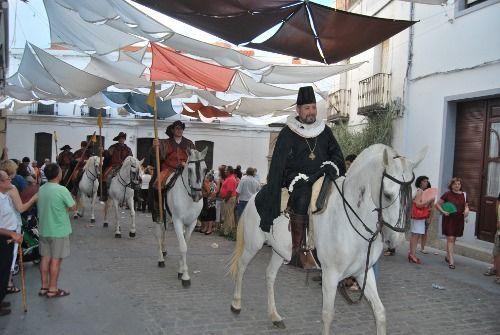 El Alcalde de Zalamea. Felipe II hace su entrada en las calles del pueblo. Viajar por Extremadura