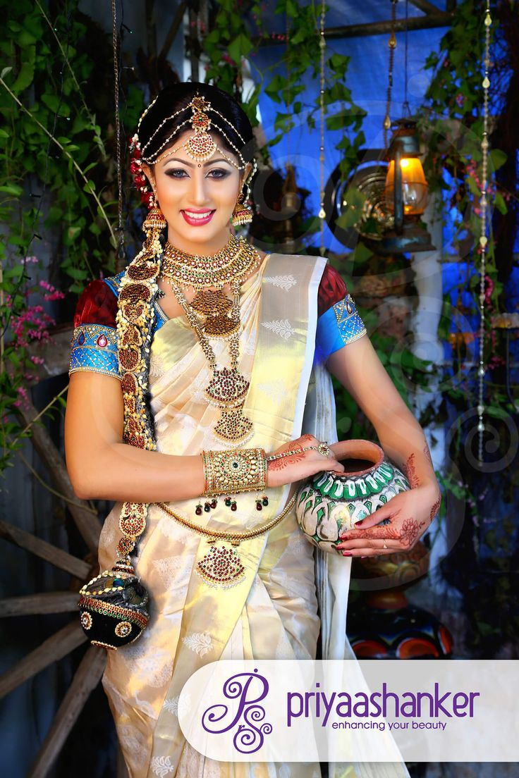 Smile as #SouthIndian #bride on your very special moment of life
