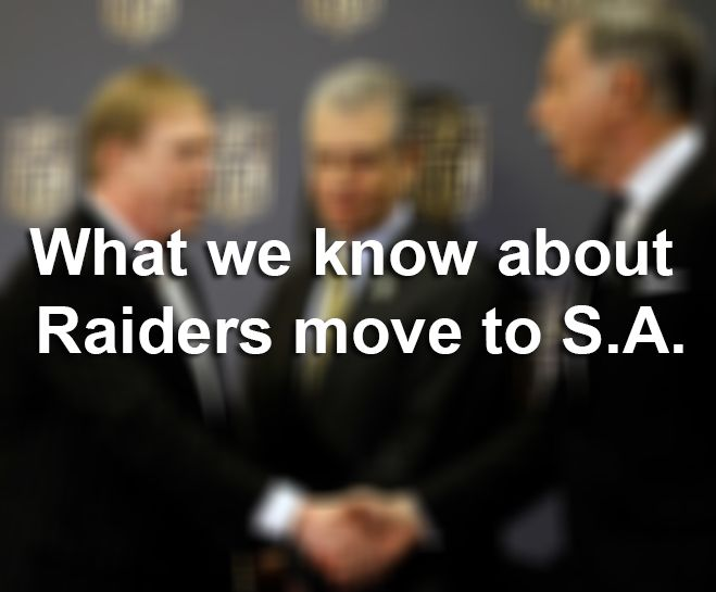 An Oakland Raiders season-ticket holder who wants the team to remain in the East Bay has filed a trademark application for the name San Antonio Raiders. I figured if I took over the name San Antonio Raiders I could force (the team) to stay in Oakland http://ift.tt/1ZOR2BE Love #sport follow #sports on @cutephonecases