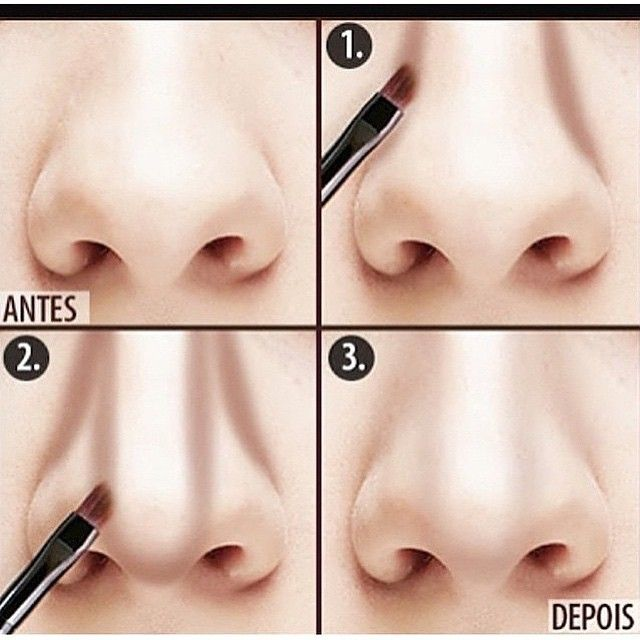 Okay, this is just too funny! If you have to make your nose look like this, you might as well give up!