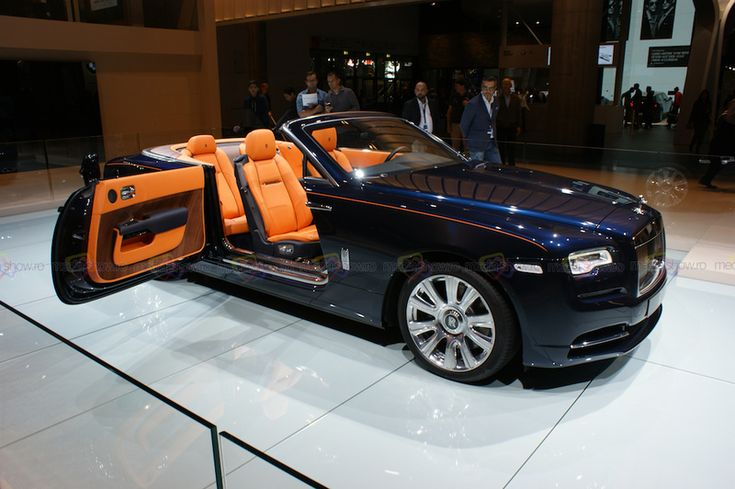 2016 Rolls-Royce Dawn World Premiere - Want to see more? Follow the link on the photo for Rolls-Royce at IAA Frankfurt 2015!