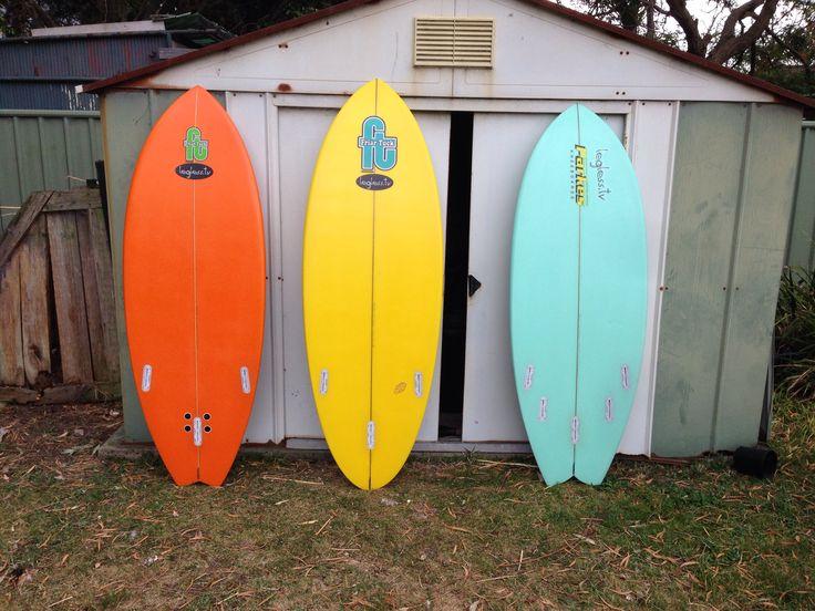 My three new boards!