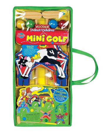 Take a look at this Mini Golf Set by T.S. Shure on #zulily today!