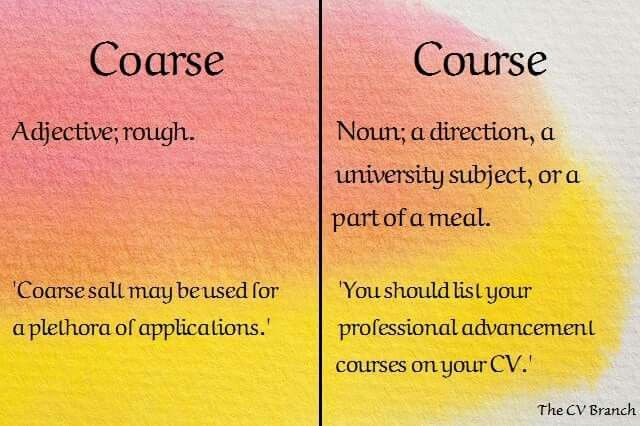 Confusing words #12 #TheCVBranch #professionalCVwriting #editor