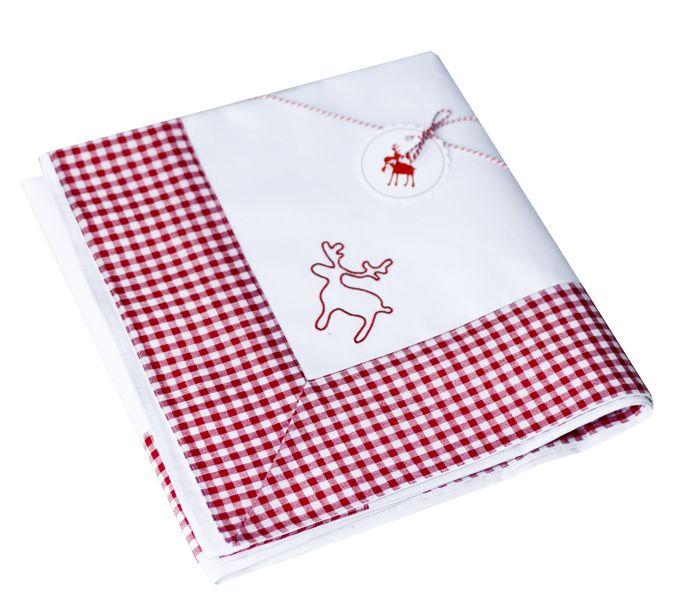 Christmas tablecloth Rudolf