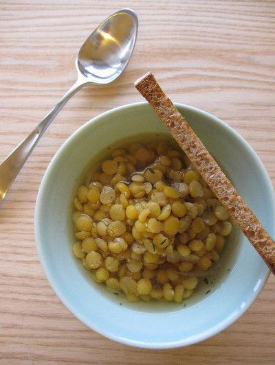 黄えんどう豆のスープ:アートソッパ by ルッセカットさん | レシピ ...