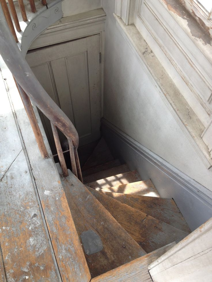 Behind a locked door     up a steep winding staircase     is a Widow's Walk  atop the Rogers mansion.      Views over the town,     no vi...