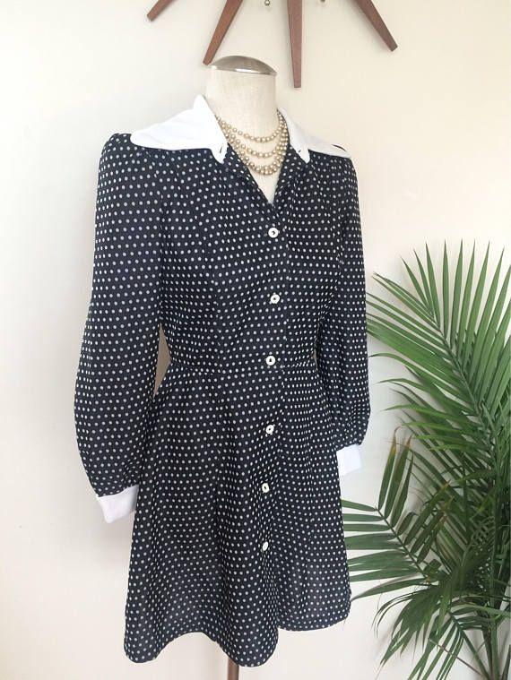 Vintage Polka Dot Dress by Mz Jones Boudoir