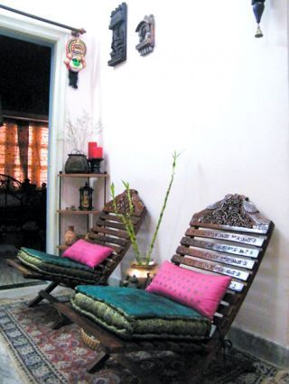 arm chair indian home decor indian design