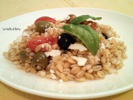 insalata grano greca