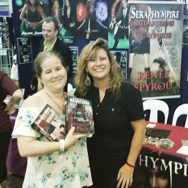 Thanks again Kelly, I  hope you enjoy my books. It was lovely to see you again. @kmurf85