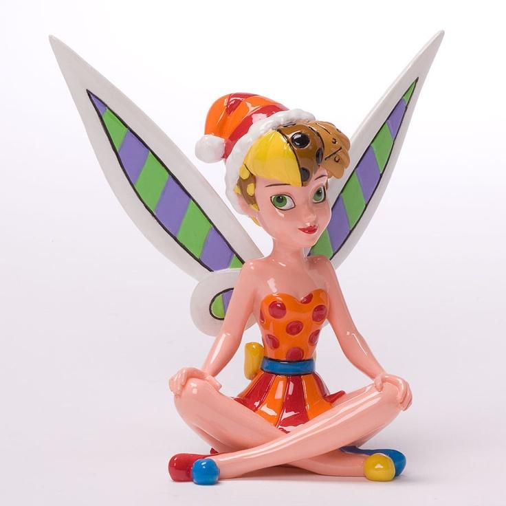Enesco Romero Britto Disney Christmas Tinker Bell Character 4027900 | eBay $33.50