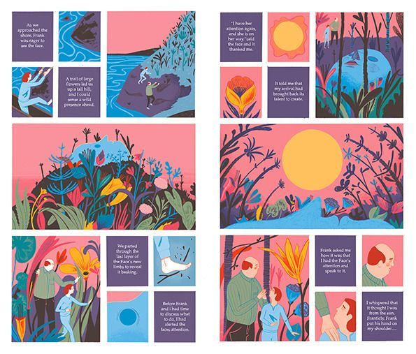 Rob Hunter's second book, Map Of Days - a stunning work of graphic fiction (via @Zoe James James C )