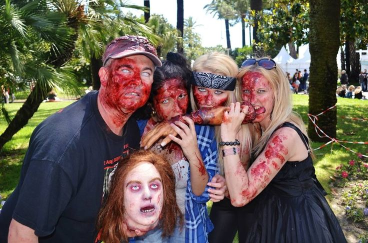 Zombie Themed party
