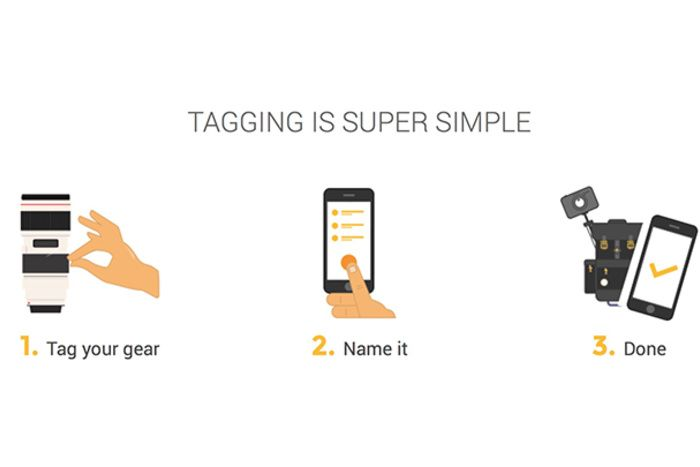 GearEye Promises to Keep Track of All Your Gear with RFID Tags ... #fstoppers #Gear #News