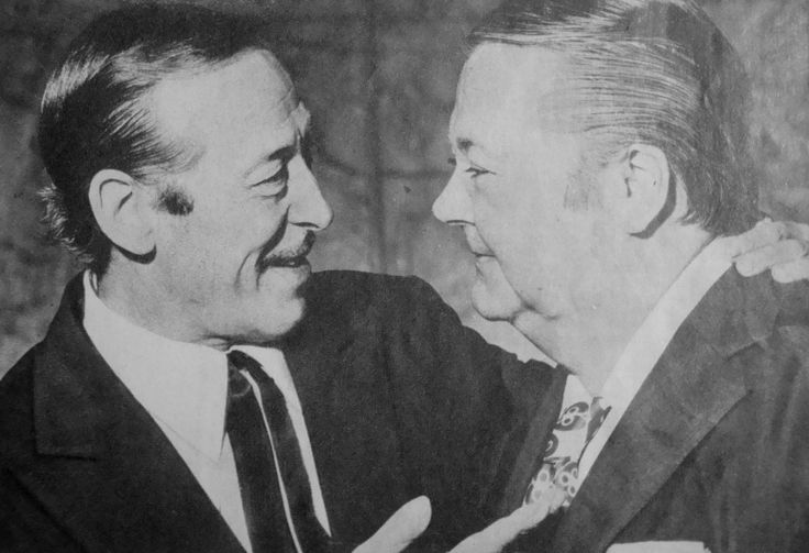 Roberto Goyeneche y Aníbal Troilo (El Gordo y el Polaco)