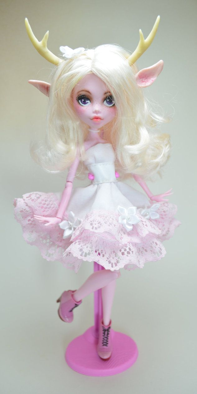 Lilia Fawn Monster High Ooak Doll by ~artchica83 on deviantART