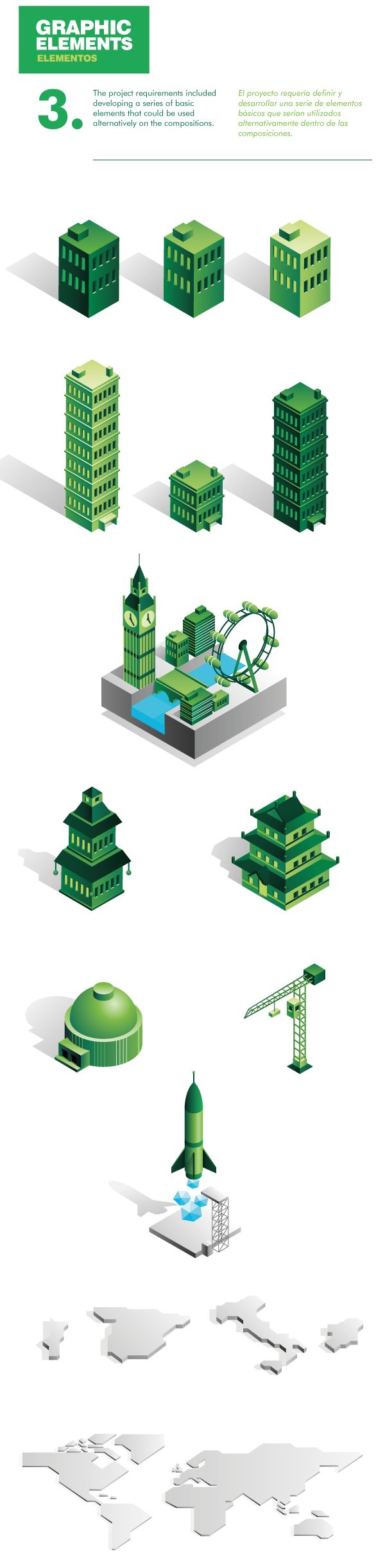 CBRE Animated Infographics by Mauco Sosa, via Behance