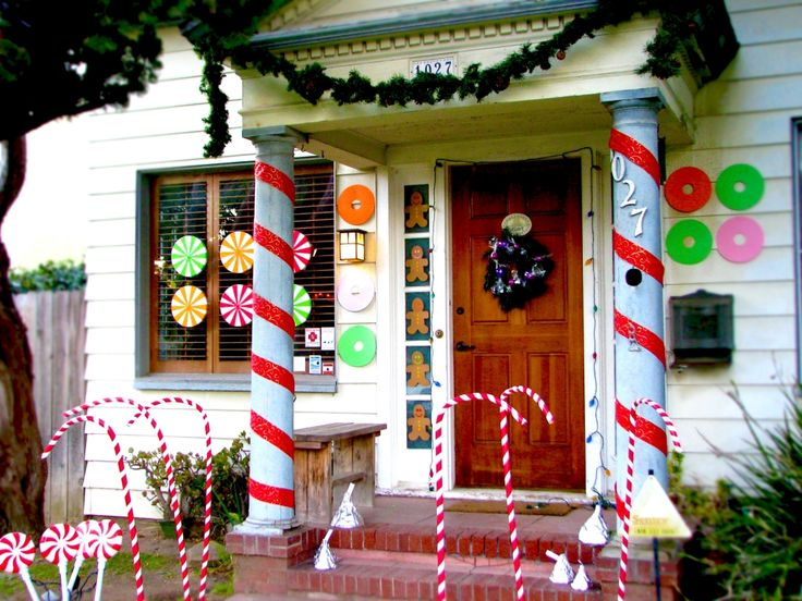 126 best images about holidays christmas exterior - Christmas decorating exterior house ...