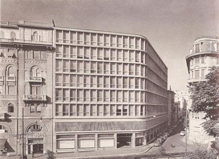 LUIGI CARLO DANERI -  Palazzo Fassio -  Via De Amicis 2 -  1949-1958