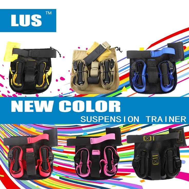 New Suspension Trainer Fitness Training Strength Training Hanging Strap Workout Sport Equipment Resistance Bands Hanging Trainer
