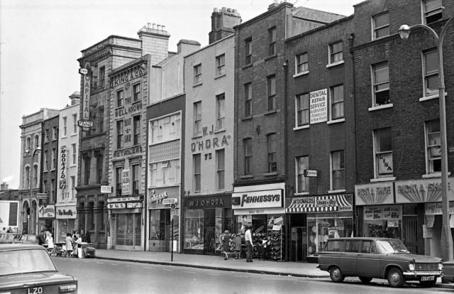 Thomas Street. The markets, street dealers, Dublin humour make this scene a part of my childhood memories.