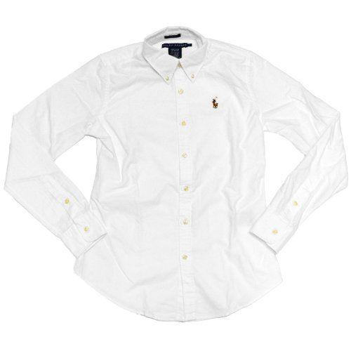 Ralph Lauren Womens Oxford Slim Fit Button Down Dress Shirt (White, 0) RALPH LAUREN http://www.amazon.com/dp/B00IPQCH8O/ref=cm_sw_r_pi_dp_wkc6tb0XEVSVD