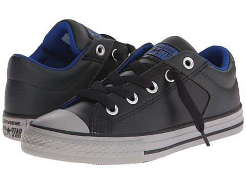 Converse Kids Chuck Taylor® All Star® Leather Mix High Street Slip (Little  Kid
