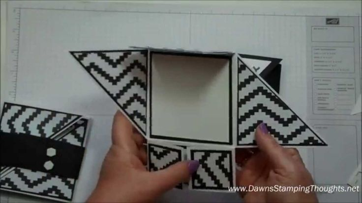 Today we will be making this unique card with lots of folds using Stampin'Up! products with Stampin'Up! Demonstrator Dawn Griffith . Thanks for watching :) —.... More