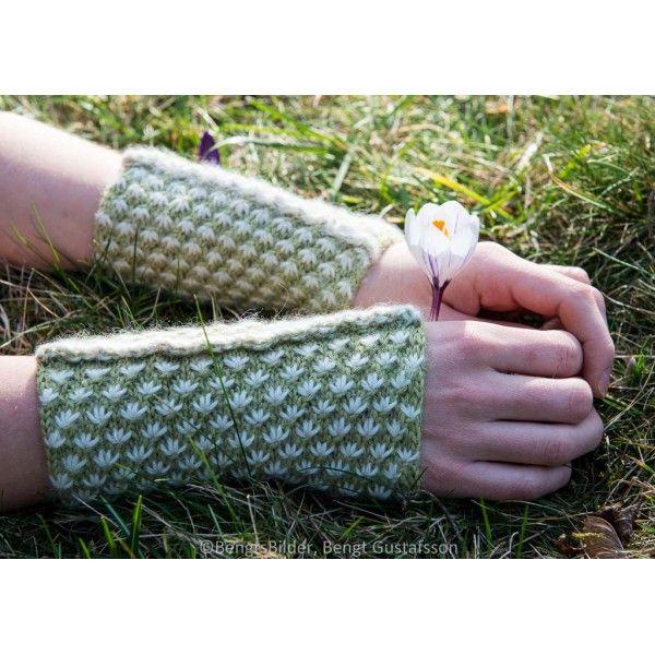 Cintia - chauffe-poignets tricot - Annette Petavy Design