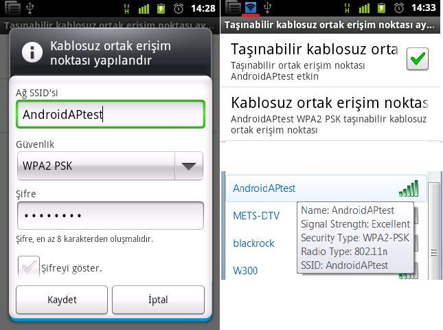 Android Telefonu Wireless Modem Olarak Kullanma http://androidturkey.net/2011/08/25/android-telefonu-wireless-modem-olarak-kullanma/