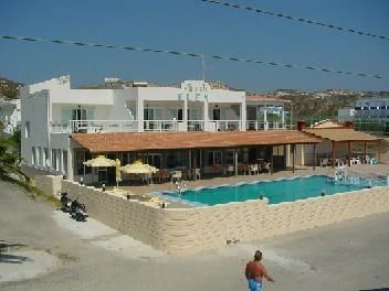 Eleni Hotel, Kefalos, Kos. Just 100 metres from Kamari Beach in Kefalos, Eleni Hotel features a pool, a sun terrace with sun loungers and a poolside snack bar. It offers free Wi-Fi in public areas and rooms with a balcony. The simply decorated rooms of Eleni enjoy views over the pool, the mountain or the surrounding area. Each comes with a fan and a private bathroom with shower or a bath tub. Air conditioning is available upon request at an extra charge. KosExplorer.com -