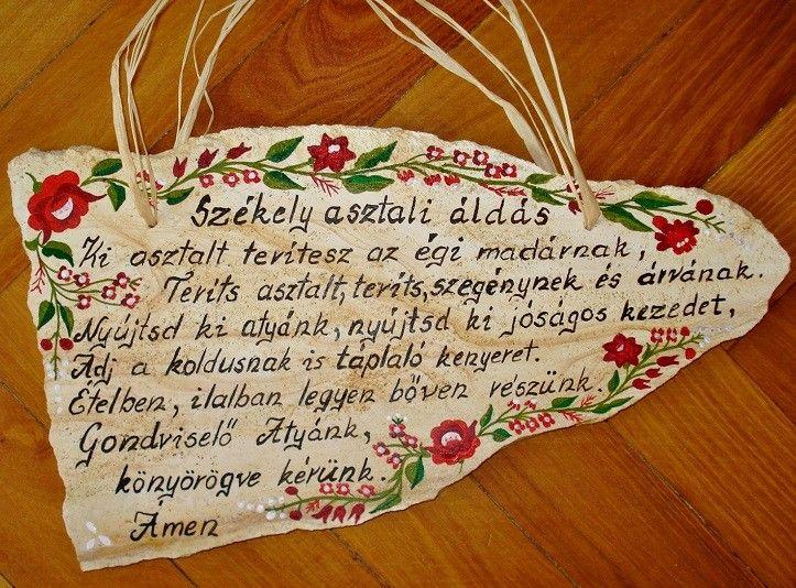 Székely asztali áldás - MindenegybenBlog